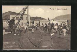 CPA Sao Vicentz, Ponte De Desembarque - Cap Verde