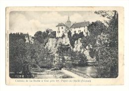 Cp, 86, Près De St-Pierre De Maillé, Le Château De La Roche à Gué, Voyagée 1906 ? - Otros Municipios