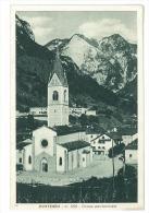 CARTOLINA - PONTEBBA - CHIESA PARROCCHIALE  - VIAGGIATA NEL 1941 - Udine