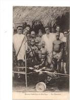 AFRIQUE---NIGER----MISSION CATHOLIQUE DU BAS-NIGER --un Tisserand--2  Scans - Niger
