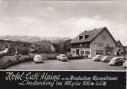 GERMANY - HOTEL CAFE ALPINA - LINDENBERG IM ALLGAU - Lindenberg I. Allg.
