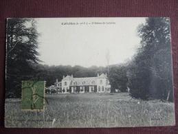 CELLETTES / CHATEAU DE LATAINE / JOLIE CARTE / 1917 / EDITION E.L / PHOTOGRAPHE C. VANNIER - Autres Communes