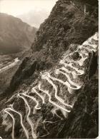 SAVOIE (73) Route De MONTVERNIER En Maurienne à PONTAMAFREY -17 Virages Lacets (circulé 1963 Voir Détails 2scan) MW431 - Autres Communes