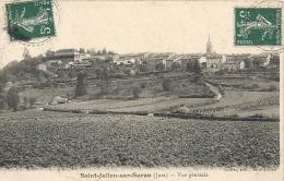Jura- Saint-Julien-sur-Suran -Vue Générale. - France