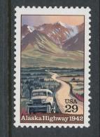 USA 1992 Scott 2635. Alaska Highway, 50th Anniversary, MNH ** - Neufs