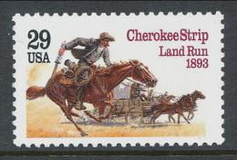 USA 1993 Scott 2754. Cherokee Strip Land Run Centenial, MNH ** - Nuevos