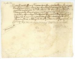 1714/1716 L'ABBAYE SAINT-ANTOINE-DES-CHAMPS à PARIS Chamillart Ministre Gourreau De La Proustière - Historical Documents