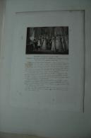 DUCHESSE D´ANGOULEME, Fêtes TUILERIES Eau-forte, Vers 1814, Ref 368 G01 - Estampes & Gravures