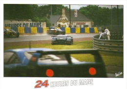 24 Heures Du Mans  -  Carte Postale - Motorsport