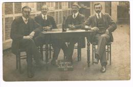 """Photo Carte """"Les Amis Du Bois D´Havré 1915"""" - Mons"""