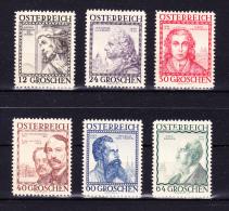 AUSTRIA 1934 ,  Architects  ,  Y&T   #  460 A/ 65   , Cv  180.00  E ,  ** M N H , V  F - 1918-1945 1a Repubblica