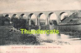 CPA  LES ENVIRONS DE BEAUMONT LE GRAND PONT DE SOIRE SAINT GERY - Beaumont