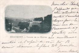 CPA  BEAUMONT VALLEE DE LA HANTES 1899 !! - Beaumont