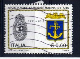 Italia Italie Italy  2011 USATO - Marina Militare - 2011-...: Usati