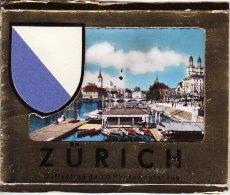 10 1960s Photo Cards Zurich Switzerland Limmat River - Géographie