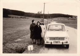 Foto RENAULT 6, Original Foto Aufnahme 1971, Format 12,5 X 8,8 Cm - Automobile