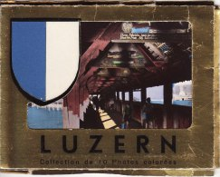 10 1960s Photo Cards Lucerne Switzerland Luzern Gallia - Géographie