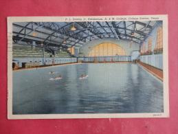 College Station,TX--P.L. Downs Jr. Natatorium, A&M College--cancel 1945--PJ156 - Unclassified