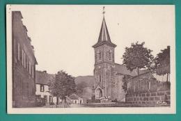 15 - Le FALGOUX   L'Eglise   Pittoresque Cantal  - 2 Scans - Impeccable - édit  CIM - Francia