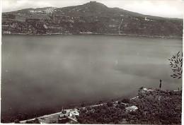 ROMA CASTEL GANDOLFO LAGO E MONTE CAVO 1966 - Italia