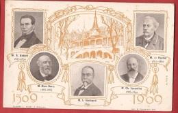 Z0192 Betant, Barry, Bertrand, Lecoultre, Rochat.  Non Circulé. - Célébrités