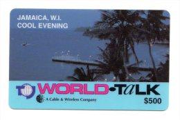 JAMAIQUE CARAIBES PREPAYEE WORLD TALK 500$ COOL EVENING - Jamaïque