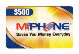 JAMAIQUE CARAIBES PREPAYEE MIPHONE 500$ - Jamaïque