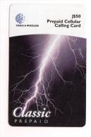 JAMAIQUE CARAIBES PREPAYEE CABLE 1 WIRELESS 50$ - Jamaïque