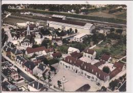 CROUY -La Mairie Vue Aérienne - Autres Communes