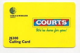 JAMAIQUE CARAIBES PREPAYEE CABLE &  WIRELESS 300$ - Jamaïque