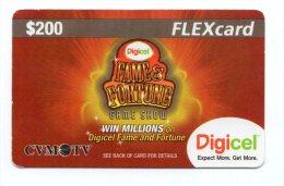 JAMAIQUE CARAIBES PREPAYEE DIGICEL FLEXCARD 200$ - Jamaïque