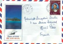 1982  Lettre Avion  Pour La France   Roi Pomaré V  Yv PA 109 - Briefe U. Dokumente