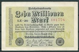 GERMANY 1923 10 MILLIONEN MARK P106 -G - 10 Millionen Mark