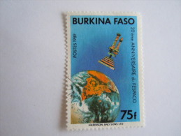 Burkina Faso 1989 20e Anniversaire De Fespaco Satelite Yv 801 O - Burkina Faso (1984-...)