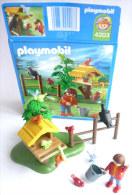 PLAYMOBIL BOITE 4203 Enfant avec ces oiseaux