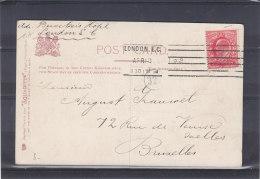 Grande Bretagne - Carte Postale De 1913 - Expédié Vers La Belgique - 1902-1951 (Kings)