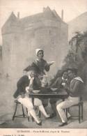 44 GUERANDE PORTE ST MICHEL  D'APRES M. VASSELON PAS CIRCULEE - Paintings