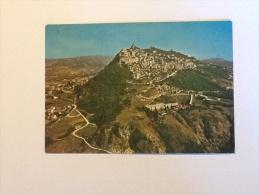 SAN MARINO PANORAMA DEL MONTE TITANO VIAGGIATA 1973 - San Marino