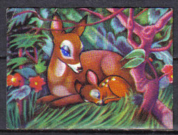 P759 - LOT 10 IMAGES COLLECTION ECLAIR - BAMBI DISNEY - Unclassified