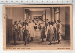 Fribourg - Pensionnat Jeanne D'Arc, Leçon De Callisthénie (1913) - FR Fribourg