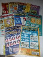 LOT De 9 Catalogues ( TIMBRO-LOISIRS)  BON ETAT - Francese