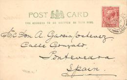 CARTA A PONTEVEDRA 1914  ESCANER - 1902-1951 (Reyes)