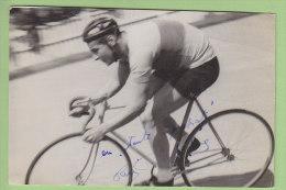René DELABRE, Autographe Manuscrit, Dédicace. 2 Scans. Picoche - Cyclisme