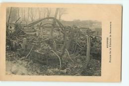 SUIPPES : Ruine De La Filature De Bonneterie. 2 Scans. - France