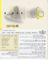 ISRAELE ISRAEL INTERNATIONAL PREPAID CALLING CARD PREPAGATA - Israele