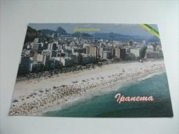 Copacabana Ipanema Rio De Janeiro Brasile Beach Spiaggia - Rio De Janeiro