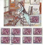 1051w: Österreich 1987, Flexographen Und Graveure, Maximumkarte Plus **/o - Jobs