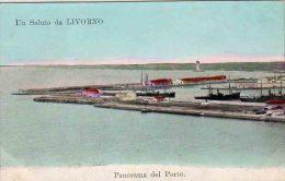 LIVORNO - PANORAMA DEL PORTO  - F/P - N/V - Livorno