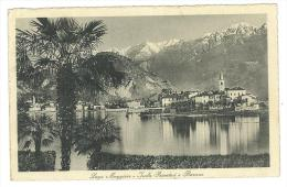CARTOLINA - BAVENO - LAGO MAGGIORE ISOLA PESCATORI  -  VIAGGIATA NEL 1913 - Verbania