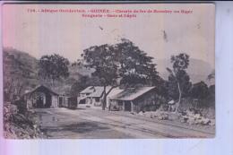 GUINEA - CONAKRY - Chemin De Fer / Gare & Depot, 1915 - Bahnhof / Station - Guinea